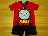 機関車トーマス半袖半ズボン子供パジャマ(120)【夏】(JAMES)