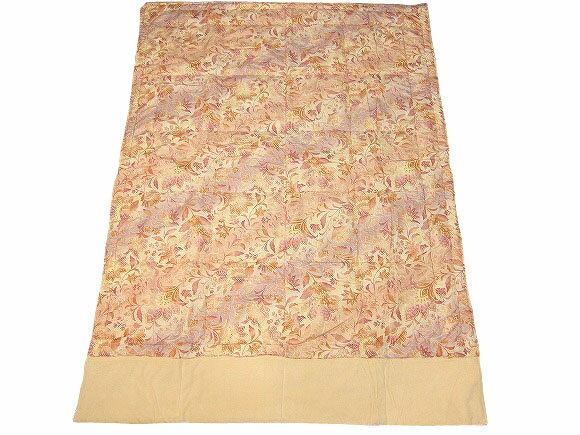綿マイヤーシルクケット【送料無料】 綿マイヤーと絹の中綿、天然繊維の組み合わせ