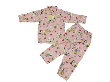 スヌーピー子供パジャマ(100)(110)夏 長袖・半袖