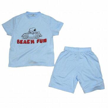 スヌーピー子供パジャマ 半袖半ズボン(110 )