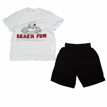 スヌーピー子供パジャマ 半袖半ズボン(110 )(120 )