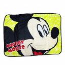 ミッキーマウスひざ掛け毛布