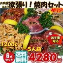 【 国産牛 】 焼肉セット 『ダリア』[ 5人前 1.2kg...