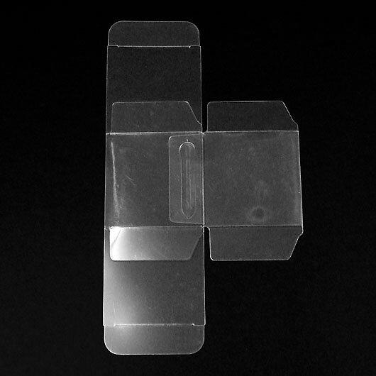 クリアキャラメル箱(NO33)43×43×43 200枚セット【クリアケース クリアボックス ディスプレイ 透明 ギフトボックス 箱 ラッピング 透明ケース クリアボックス ラッピング用品】