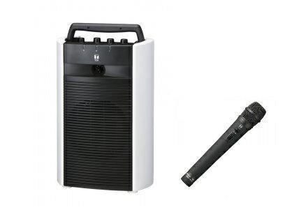TOA 800MHz帯 ワイヤレスアンプ(シングル)(CD・SD・USB付)+ワイヤレスマイク(ハンド型)セット「WA-2700SC+WM-1220」 WA-2700SC-A