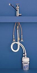 キッツ浄水器オアシックスビルトイン混合水栓一体型【クレジットカードOK】