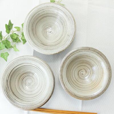 【益子焼】豪快な全体白刷毛目 カフェ多様小鉢 【単品1個】