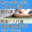 熊本・八代産「掛川織」寝ござ