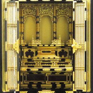 【金仏壇】京樂15号30台高110cm×幅50cm×奥行43cm仏間・床の間用