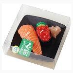 【カメヤマ好物キャンドル】寿司キャンドルいくら・サーモン
