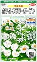 何が咲くのか楽しみ♪白花のミックスガーデン【花絵の具】ホワイトフラワーガーデン【サカタの...