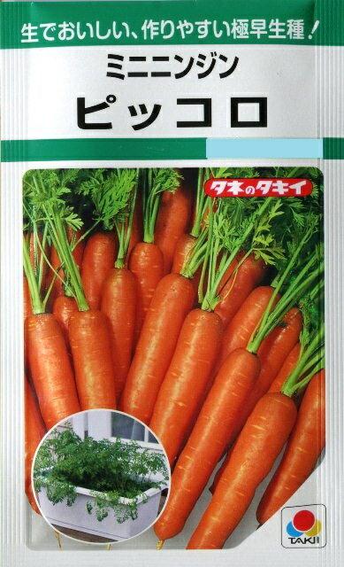 ミニニンジン ピッコロ 8ml (種)