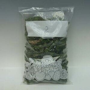 胡蝶蘭、洋蘭用茎止めクリップ菊型2番深緑色500個入り1袋