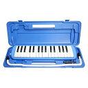 SYMPHA 鍵盤ハーモニカ 32鍵 / 鍵盤 DO RE Mi 凸印タイプ (吹き口 & ホース付属) (ブルー)