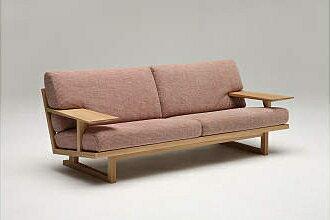 【6/24までソファーにクリーナー付】カリモク布3PソファーWU4703E462送料無料湿気対策【c】
