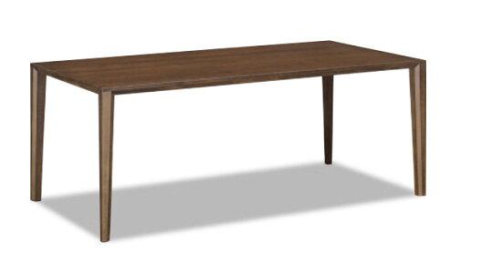 カリモクダイニングテーブルDT8411オーク材サイズオーダー対応4本脚タイプ