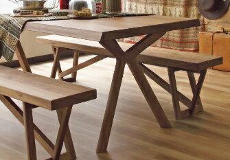 カリモクダイニングテーブル幅165オーク材DW5500E000送料無料【家具のよろこび】