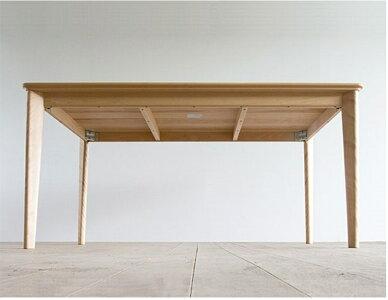 ダイニングテーブルリーフ幅150オーク材送料無料国産家具のよろこび【店頭受取対応商品】