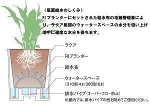 底面潅水システムラクアインナーポットセット310型【SALE/セール】【02P04feb11】