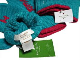 ケイトスペードKateSpadeNY手袋ミトンウール100%中古未使用品