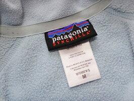 パタゴニアPatagoniaシンチラレディース中古フルジップフリースベスト