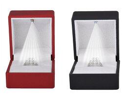 LEDライトアップリングケースRINGBOXジュエリーケース指輪