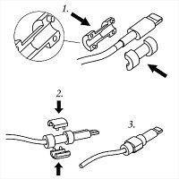 ケーブル用キャラクターコネクタ保護キャップ断線防止コネクタ保護プロテクター保護カバー