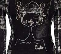 クストバルセロナCustoBarcelona長袖高級ウールジャケットサイズ36$298