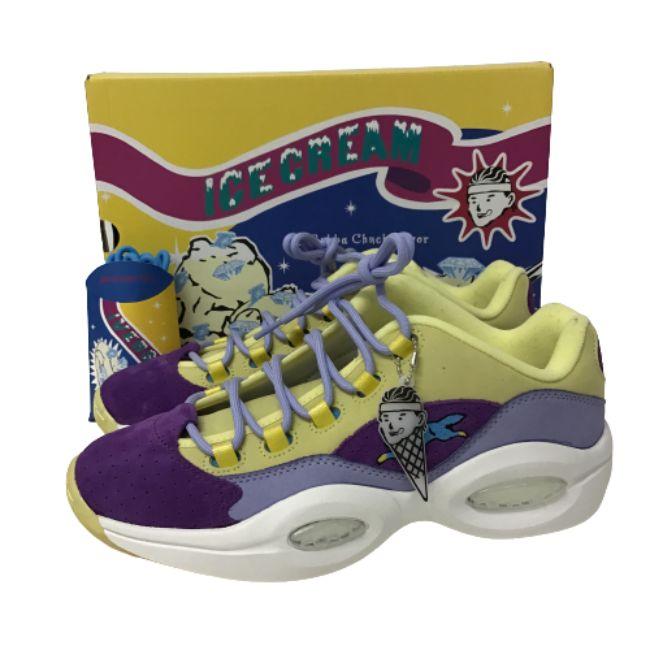 メンズ靴, スニーカー ReebokQUESTION LOWBILLIONAIRE BOYS CLUBICECREAM G55351328cm
