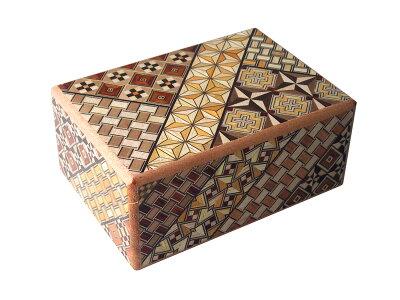 寄木細工秘密箱12回仕掛け