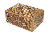 寄木細工 秘密箱4回仕掛け Japanese puzzle box 4steps