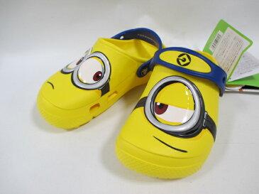 Kids' Crocs Fun Lab Minions Clogs クロックス ファン ラブ ミニオンズ クロッグ キッズ 204113 イエロー ジュニア サンダル ミニオン