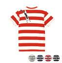 ハロウィンTシャツ「しがみつきにゃんこボーダーTシャツ」 5518 ハッピーハロウィンメンズレディース