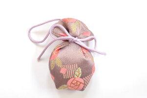 京都金襴におい袋水玉【白檀の香り】京都よしとよオリジナル京都土産に