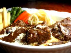 6時間煮込んだ大きなお肉が入った洋食屋さんのとろけるビーフシチュー(220g)