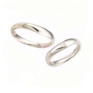 ANGEブライダル結婚リング・マリッジリング[指輪](写真左側)