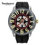 クーポン テンデンス 【正規4年保証】Tendence 腕時計 King Dome ブラック/ホワイト文字盤 TY023005 メンズ 【正規輸入品】【送料無料】【楽ギフ_包装】05P04Mar19