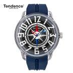 クーポン テンデンス Tendence 腕時計 King Dome ブラック文字盤 TY023006NV メンズ 【正規輸入品】3年保証【送料無料】【楽ギフ_包装】【父の日】05P04Mar19