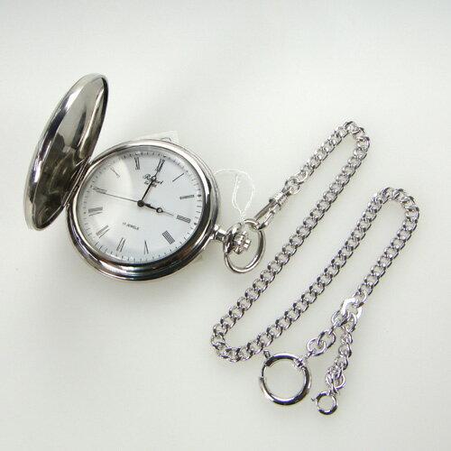 Rapport(ラポート) ポケットウォッチ(懐中時計)PW55 ハンターケース 手巻き懐中時計 メカニ...