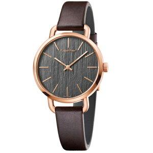 カルバンクラインライズ腕時計シルバー&ベージュ文字板レディCalvinKleinriseK7A231XH[正規輸入品/2年保証]ベージュベルト【名入れ】【のし】【包装】【メッセ入力】【送料無料】10P26Mar16