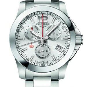 LONGINESロンジンコンクエストニュークオーツメンズサイズL3.700.4.56.6-ロンジン正規販売店-【_包装】正規2年保証が付いております。【ロンジン腕時計】【送料無料】【_名入れ】