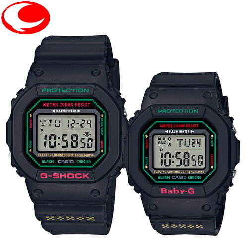 腕時計, ペアウォッチ ()1911 CASIO G-SHOCK Baby-G LOV-19B-1JR G BOX
