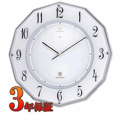RHYTHM ハイグレード リズム ソーラ 電波掛時計 RHG-E002 4MY780HG19 【楽ギ...