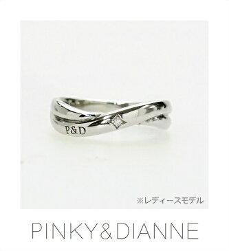 PINKY & DIANNE LOVERS ピンキー&ダイアン ラヴァーズ リング ダイヤモンド シルバー SV(ロジウムメッキ)