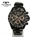 (あす楽)テクノス 腕時計 T4685BB (TECHNOS...