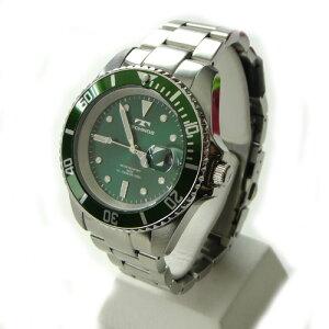 テクノス(TECHONOS)腕時計ダイバーズ10気圧防水TAM629SBメンズ