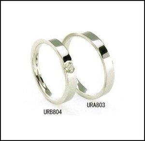 ラザールダイヤモンド結婚指輪・マリッジリング・ペアリング(プラチナ)ペアURB804-URA803