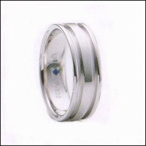 ロマンティックブルー結婚リングマリッジリング4RK013