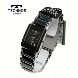 テクノス(TECHONOS)腕時計3気圧防水サファイアガラスTAL742TBレディース