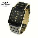 テクノス 腕時計 (TECHNOS) 3気圧防水 サファイアガラス T...
